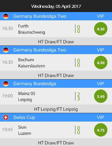 Betting Tips HT FT for PC