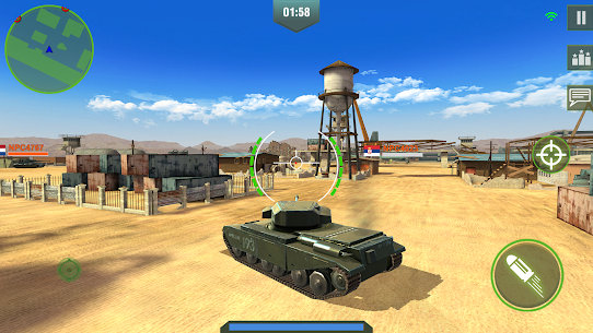 War Machines : Free Multiplayer Tank Shooting Games 6