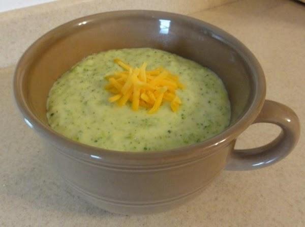 Creamy Broccoli-cheese Soup Recipe