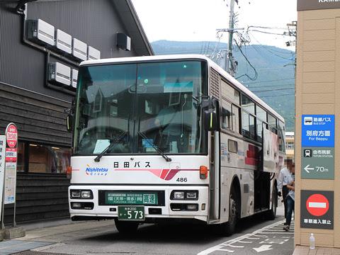 日田バス「ゆふいん号」 486 由布院駅前バスセンター改札中 その2