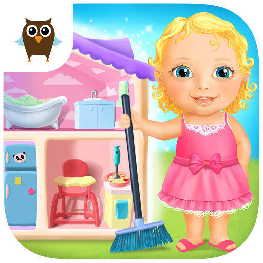 Sweet Baby Girl Doll House - Play, Care & Bed Time (game)