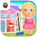 Sweet Baby Girl Doll House - Play, Care & Bed Time icon