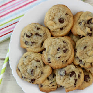 Dark Chocolate Chip Chewy Cookies.