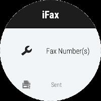 Screenshot of iFax - Send & Receive Faxes