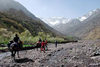 Photo: avanzamos por el lecho del rio