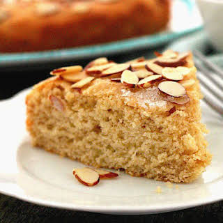 Almond Butter Yeast Cake.