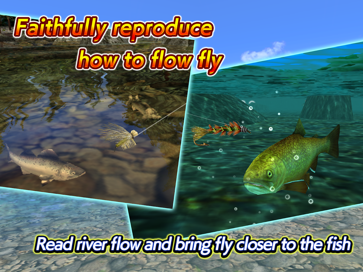 Fly fishing 3d ii android apps on google play for Fly fishing apps