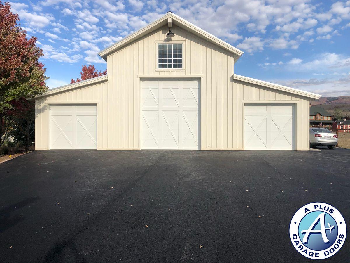 Barn style garage doors in Utah