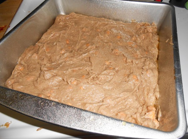 Place mixture into a greased or sprayed 8-inch baking dish. Bake in a preheated...