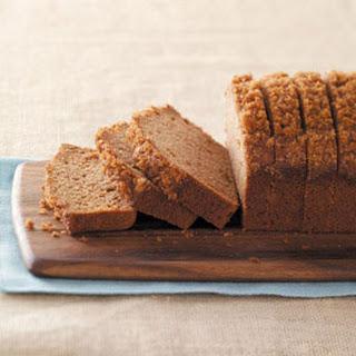Applesauce Cinnamon Bread.