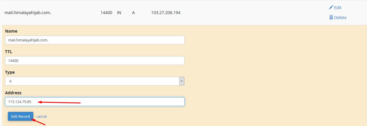 Tutorial Mengarahkan email menggunakan mail exchange