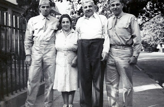 Photo: Leo Sternbach, Martha Braunhart Sternbach, Bernard and Harold Sternbach