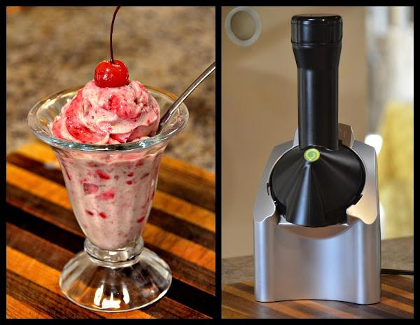 Yonana Raspberry And Banana Ice Cream (raw) Recipe