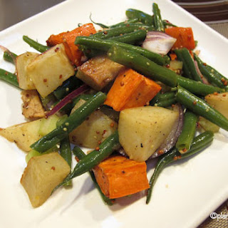 Roasted Potato & Green Bean Salad Recipe