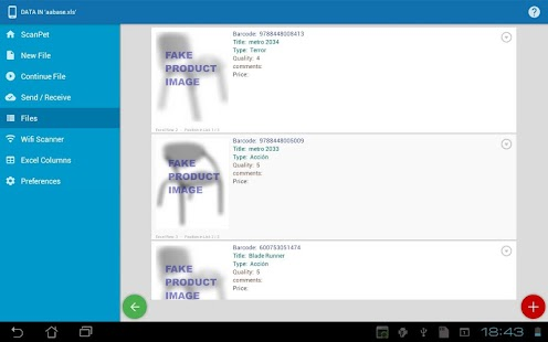 Inventory + Barcode scanner: inventory management Screenshot