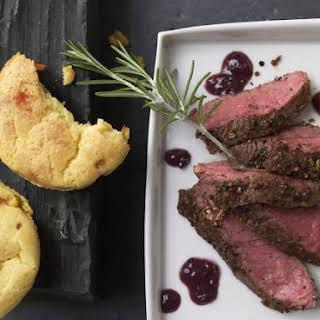 Herb Crusted Steak.