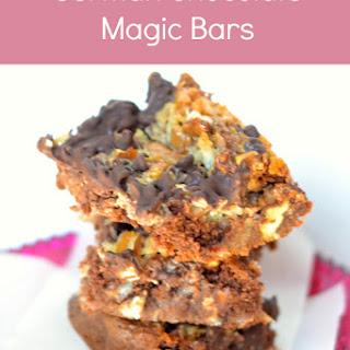 German Chocolate Magic Bars