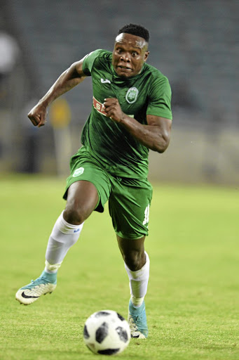 Rhulani Manzini is back at Chippa after parting ways with AmaZulu.