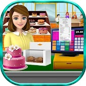 Bakery Shop Business 2: Store Manager Cashier Game