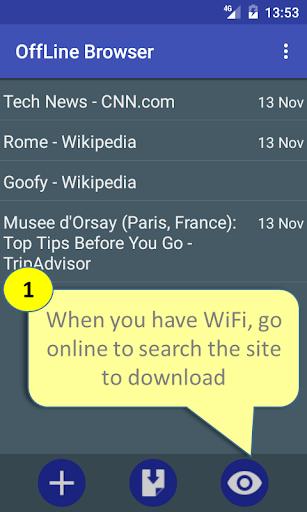 Offline Browser  screenshots 1