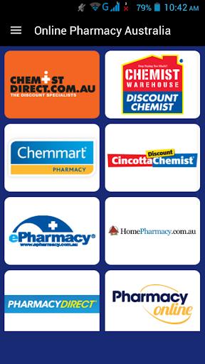 Online Pharmacy Australia 1.0 screenshots 1