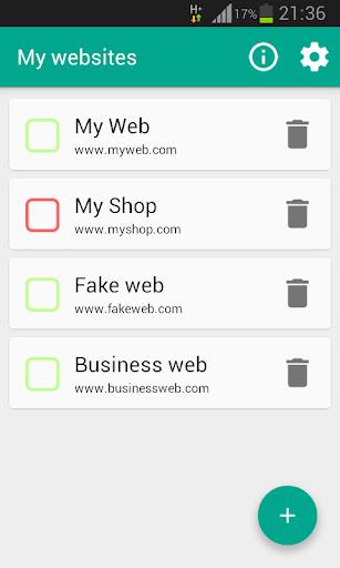 TaOn Website Status