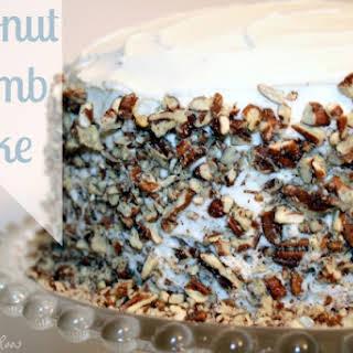 Easy Coconut Crumb Cake.