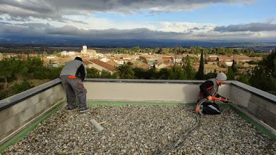 Photo: werken met uitzicht ...