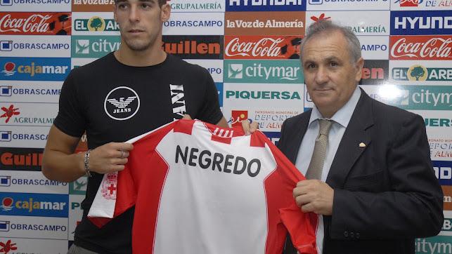 El día que Alfonso García presentó a la estrella Negredo.