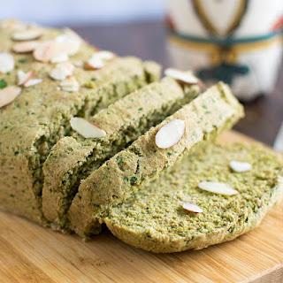 Quick Spinach Sauce Bread