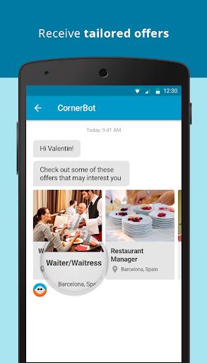CornerJob - Job offers, Recruitment, Job Search 1.6 screenshots 4