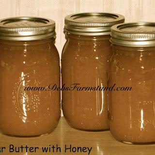 Honey Pear Butter