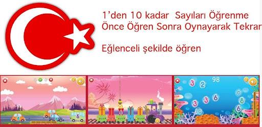 Sayıları öğreniyorum Türkçe Eğitici Oyunlar 02 Android