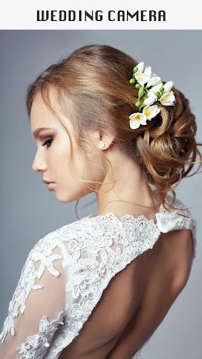 Wedding Camera: Hairstyles & Photo Montage Maker screenshots 1