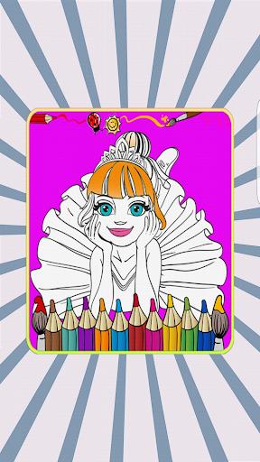 Frozen Princess Coloring Book 1.0.1 screenshots 8