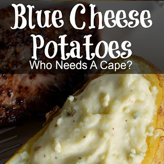 Twice-Baked Blue Cheese Potatoes Recipe
