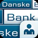 Ældre version af mobilbank DK icon