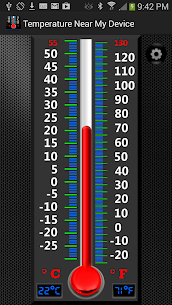 Real Mercury Thermometer 1