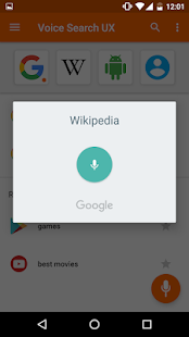 Voice Search- screenshot thumbnail