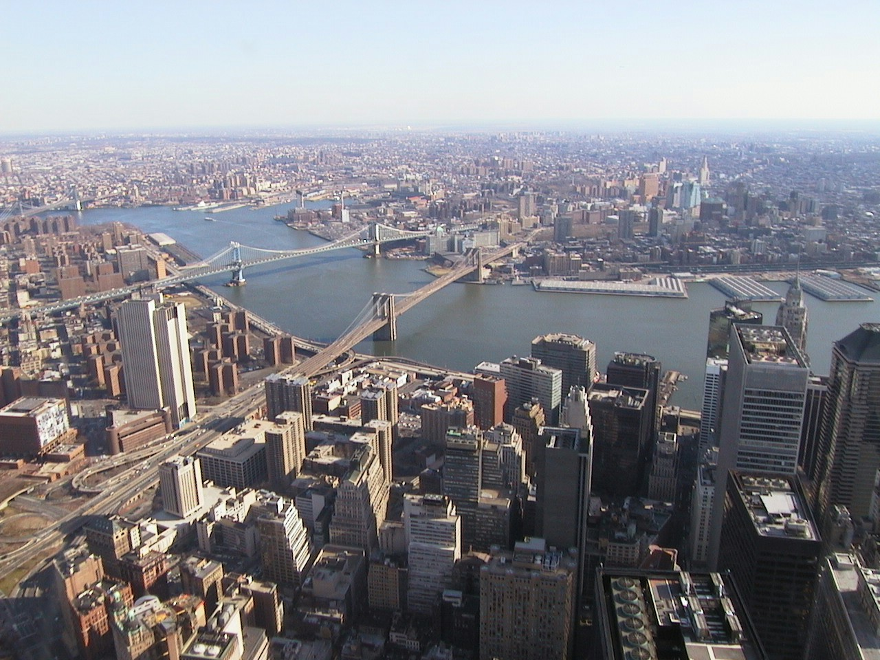 NYC from as high as you could get then