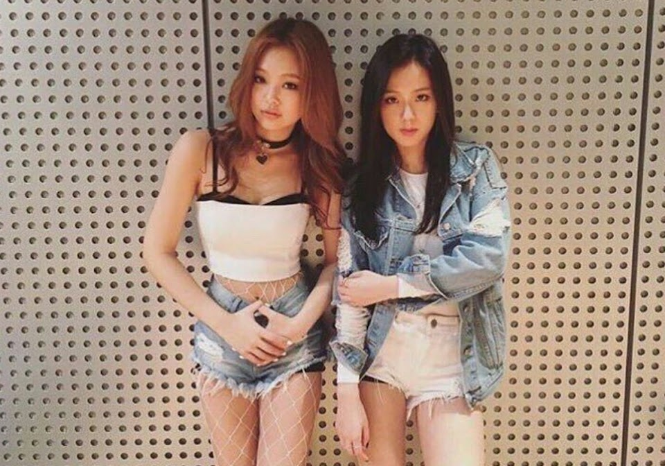 blackpink jennie jisoo