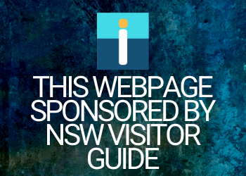 WEBPAGE SPONSORED BY NSW VISITOR GUIDE