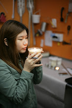 Photo: Yoojin Pi, one of our 2013 IU Student Interns.