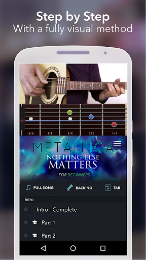 Coach Guitar: How to Play Easy Songs, Tabs, Chords 1.0.75 screenshots 2