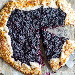 Blackberry Ginger Galette (Gluten Free and Paleo) Recipe