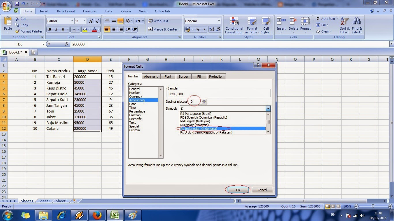 tutorial, cara, cepat, belajar,microsoft, excel