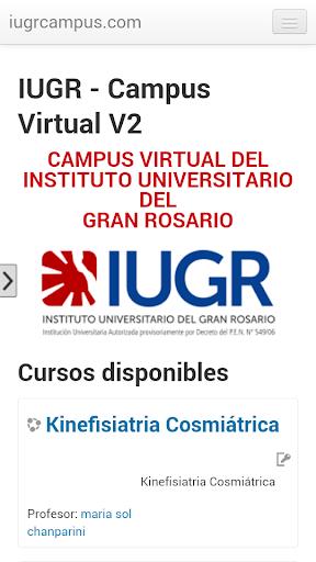IUGR Campus Virtual