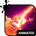 Rock Animated Keyboard icon