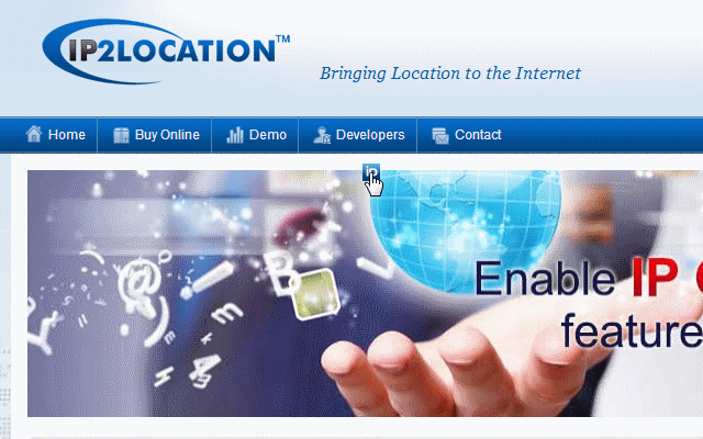 IP2Location IP Geolocation Extension