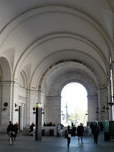 Photo: The architect of Union Station was Daniel Hudson Burnham, FAIA (1846 – 1912). He was also an urban planner.